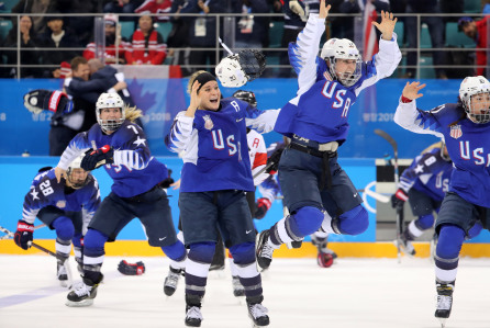 PyeongChang '18: Ice Hockey Women: USA 3:2 CAN